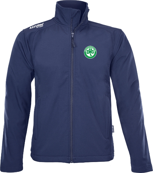Picture of Ballyhale Shamrocks Camogie Soft Shell Jacket Navy