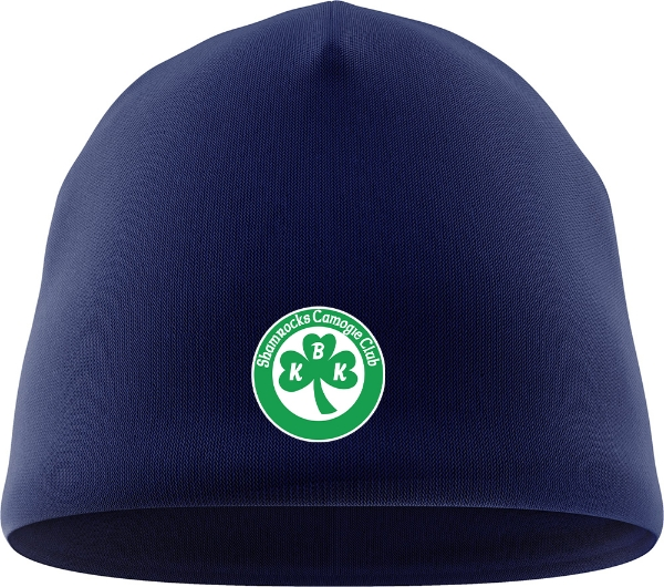 Picture of Ballyhale Shamrocks Camogie Beanie Hat Navy