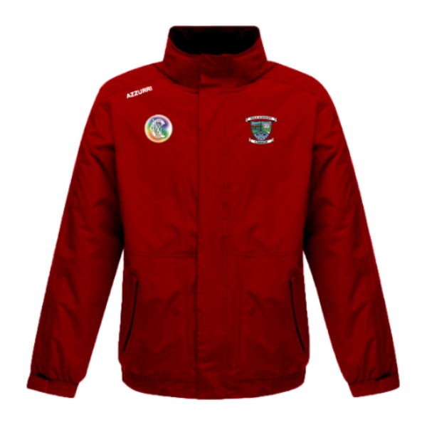 Picture of Ballyduff Upper Camogie Rain Jacket Red