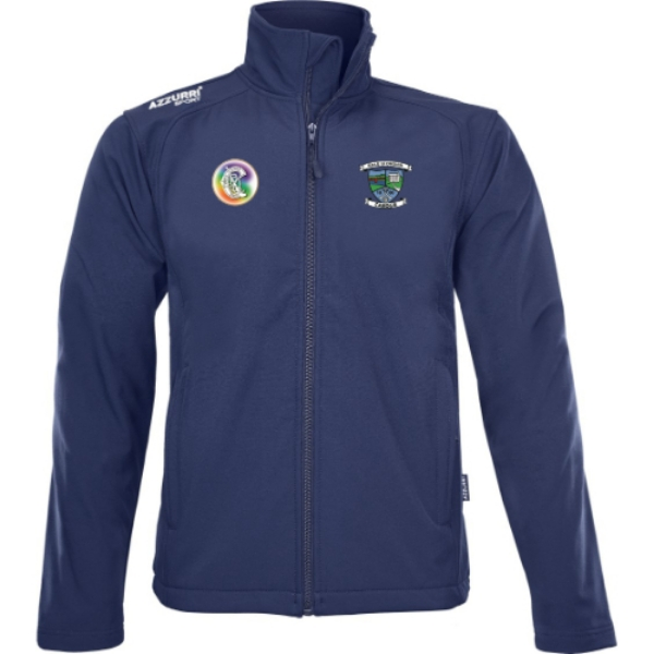 Picture of Ballyduff Upper Camogie Soft Shell Jacket Navy