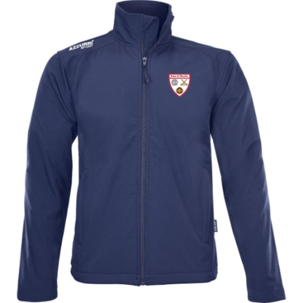 Picture of Ballyduff Lower GAA Soft Shell Jacket Navy