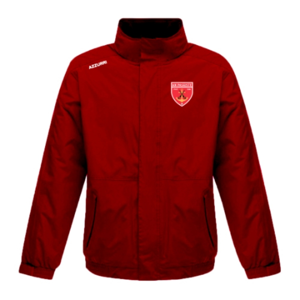 Picture of Passage East GAA Rain Jacket Red