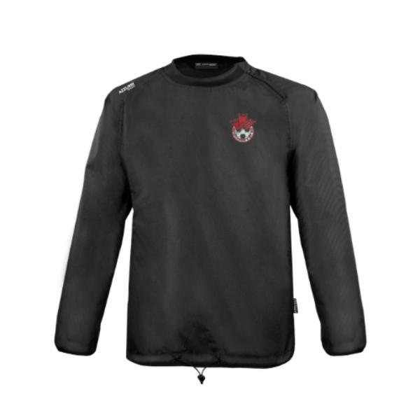 Picture of Redcastle FC Rugger Windbreaker Black