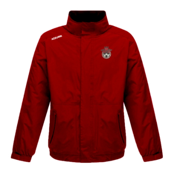 Picture of Redcastle FC Rain Jacket Red