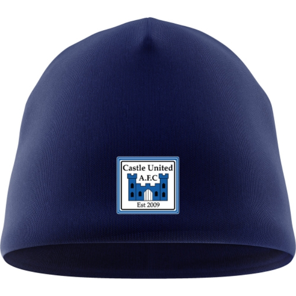 Picture of Castle United AFC Beanie Hat Navy