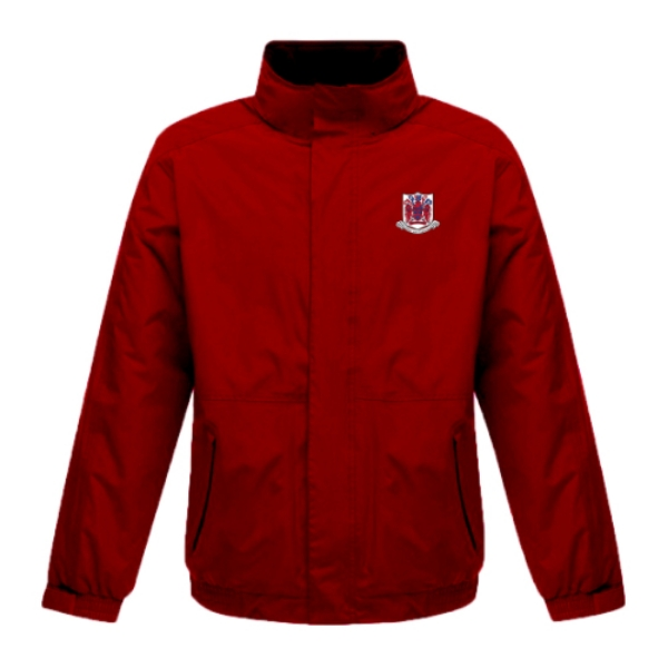 Picture of Courcey Rovers Rain Jacket Red