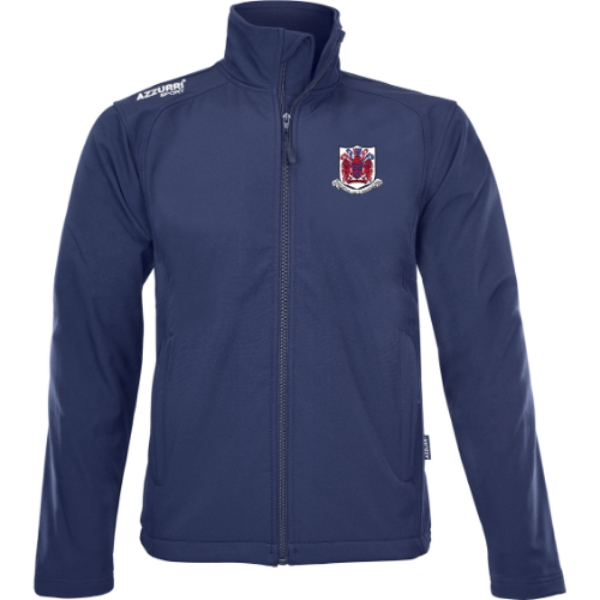 Picture of Courcey Rovers Soft Shell Jacket Navy