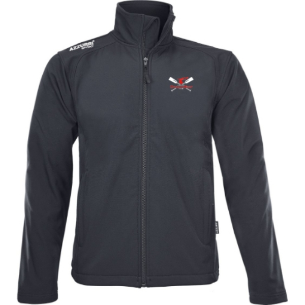 Picture of Carlow Dragon Boat Club Soft Shell Jacket Black