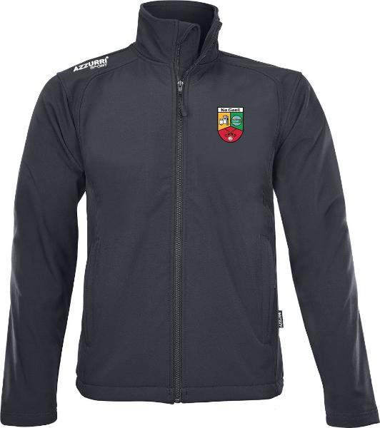 Picture of Na Geil GAA Soft Shell Jacket Black