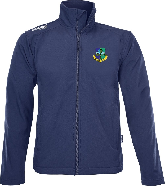 Picture of Keeldra Gaels Soft Shell Jacket Navy
