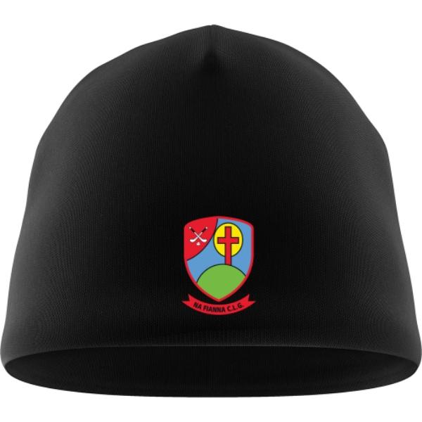 Picture of Na Fianna Hurling Club Beanie Hat Black