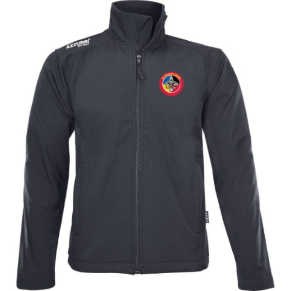 Picture of St Fintans Gaels Soft Shell Jacket Black