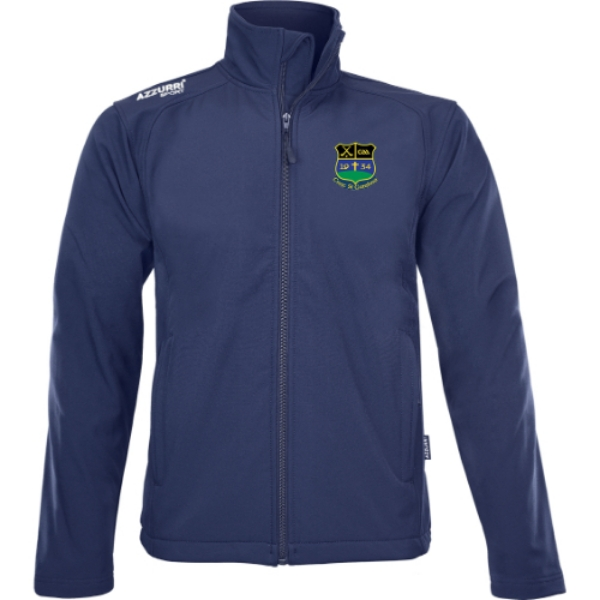 Picture of Knockshegowna GAA Soft Shell Jacket Navy