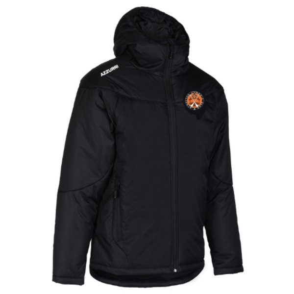 Picture of Straffan Camogie Thermal jacket Black