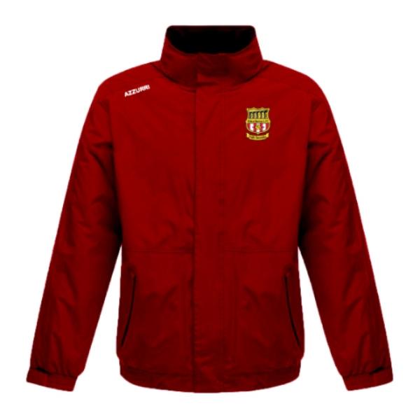 Picture of Kilmacthomas AFC Rain Jacket Red