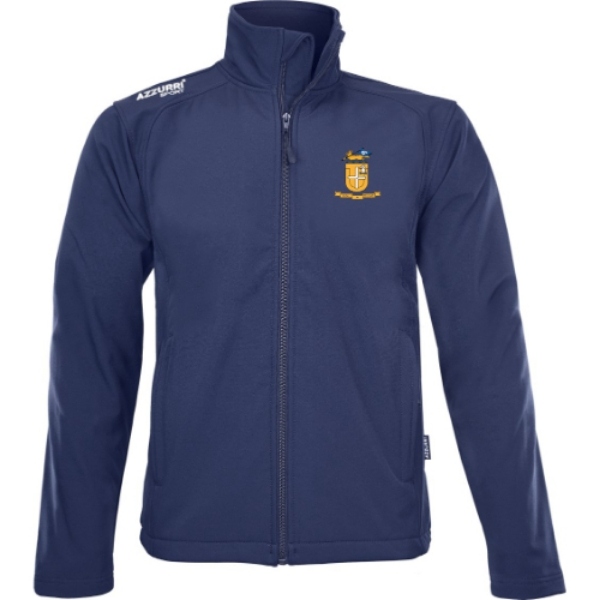 Picture of Glenamaddy GAA Soft Shell Jacket Navy