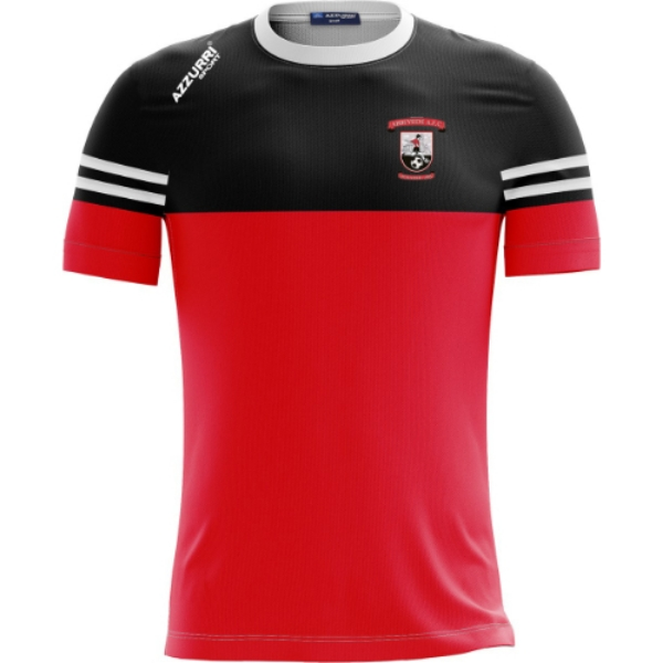 Picture of Abbeyside AFC Skryne T-Shirt Red-Black-White