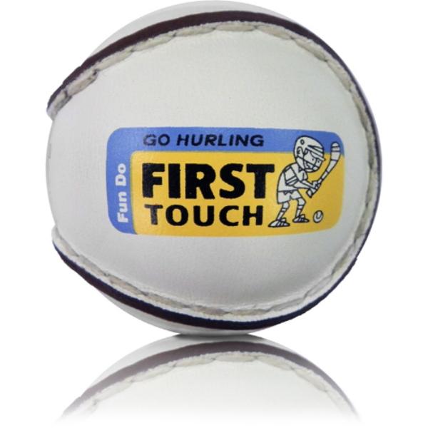 Picture of Na Fianna GAA First Touch Sliotars White