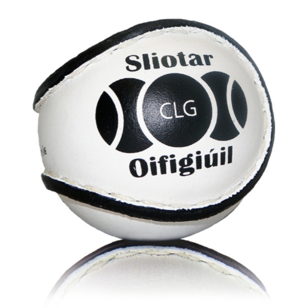 Picture of Offaly Camogie Match Sliotar 12 Pack White