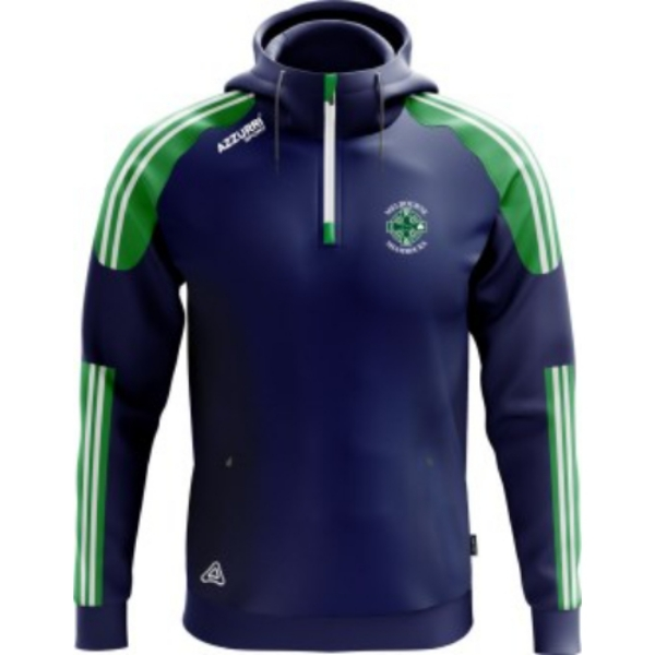 Picture of Melbourne Shamrocks Brooklyn Hoodie Navy-Emerald-White