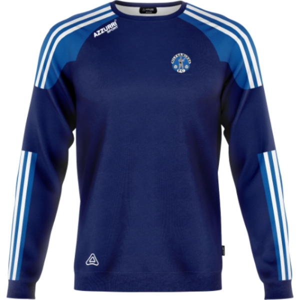 Picture of Silvermines FC Brooklyn Crew Neck Navy-Royal-White