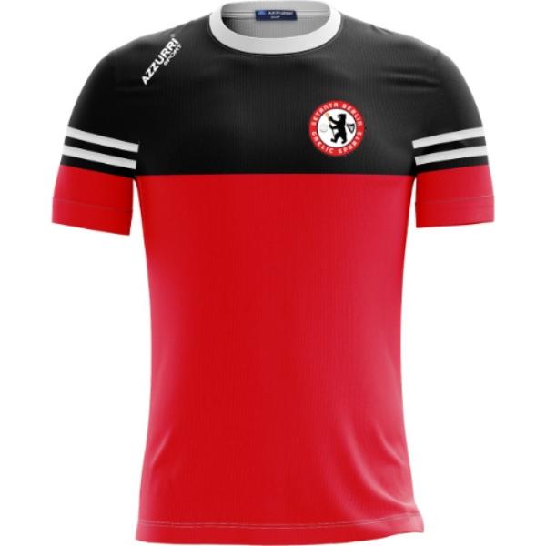 Picture of Setanta Berlin Skryne T-Shirt Red-Black-White