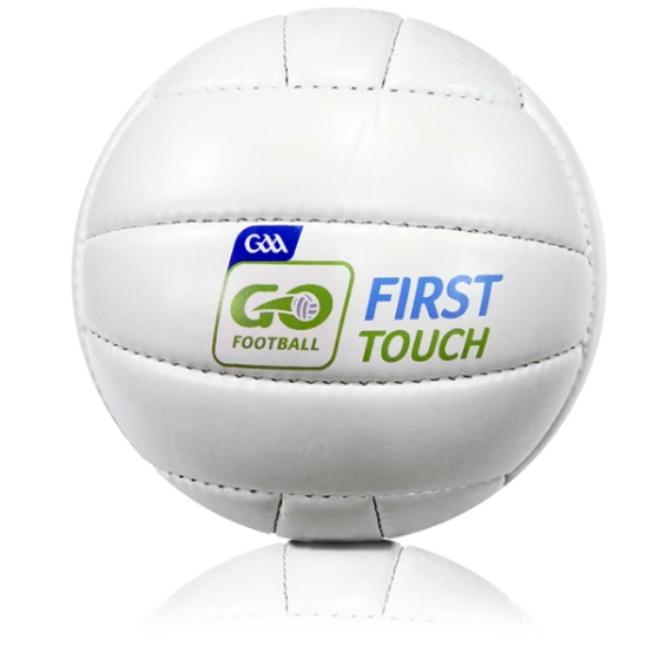 Picture of Macroom LGFA Quick Touch Football White