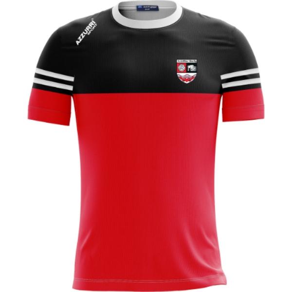 Picture of FGEO GAA Skryne T-Shirt Red-Black-White
