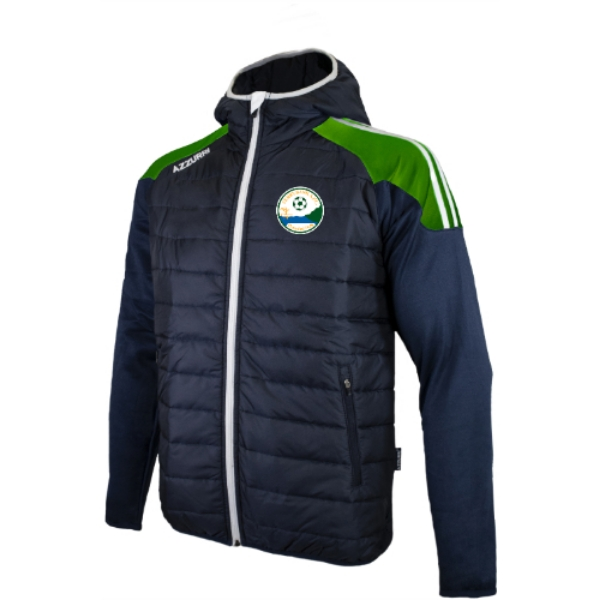 Picture of Ferrybank AFC Holland Jacket Navy-Royal-White