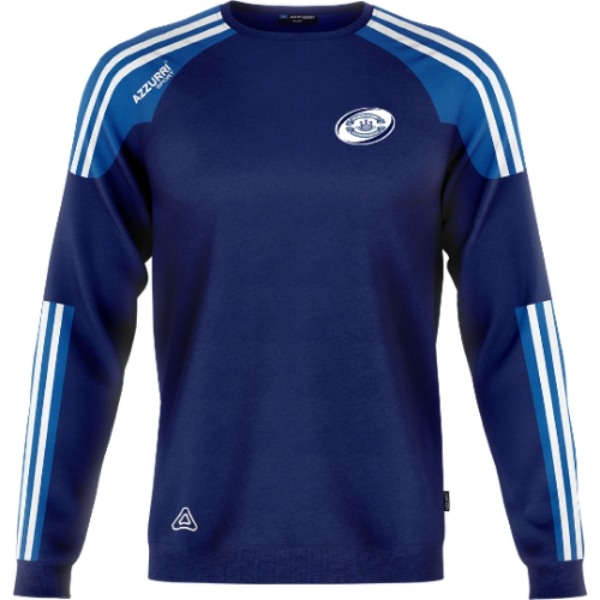 Picture of Bandon RFC Brooklyn Crew Neck Navy-Royal-White