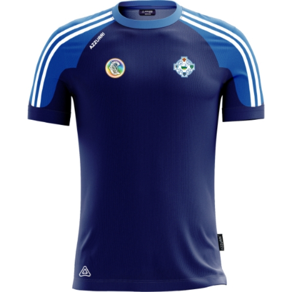 Picture of Tramore Camogie Brooklyn T-Shirt Navy-Royal-White
