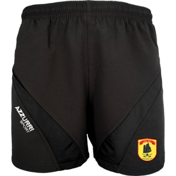 Picture of Dunhill Gaa Gym Shorts Black-Black