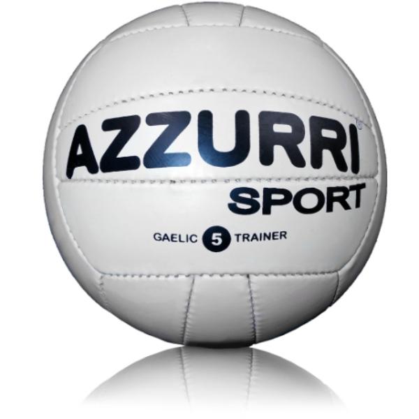 Picture of York Eireannach  Official GAA Training Ball White