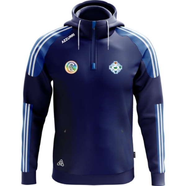 Picture of Tramore Camogie Brooklyn Hoodie Navy-Royal-White