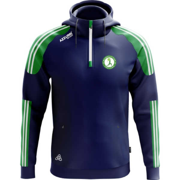Picture of Weightlifting Ireland Brooklyn Hoodie Navy-Emerald-White