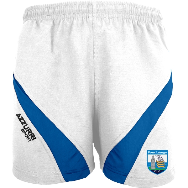 Picture of Waterford GAA White-Royal Gym Shorts White-Royal