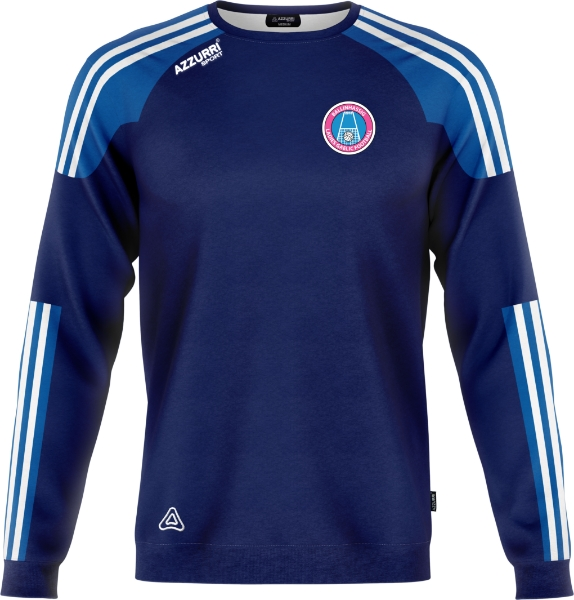 Picture of Ballinhassig LGFA Brooklyn Crew Neck Navy-Royal-White