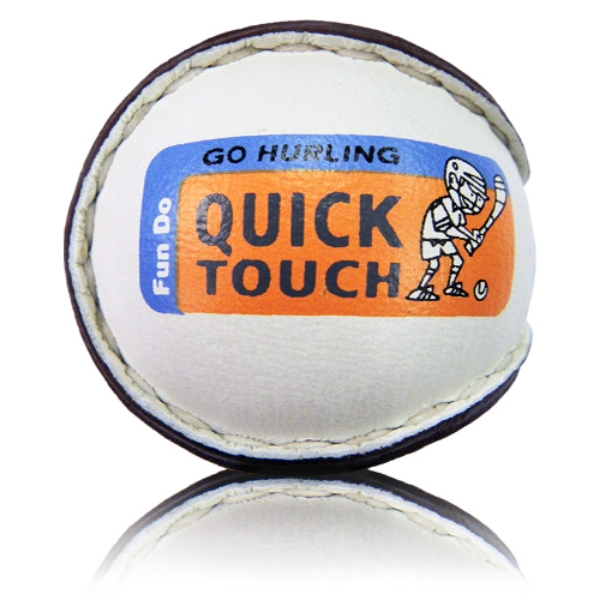 Picture of Straffan Camogie Quick Touch Sliotars White