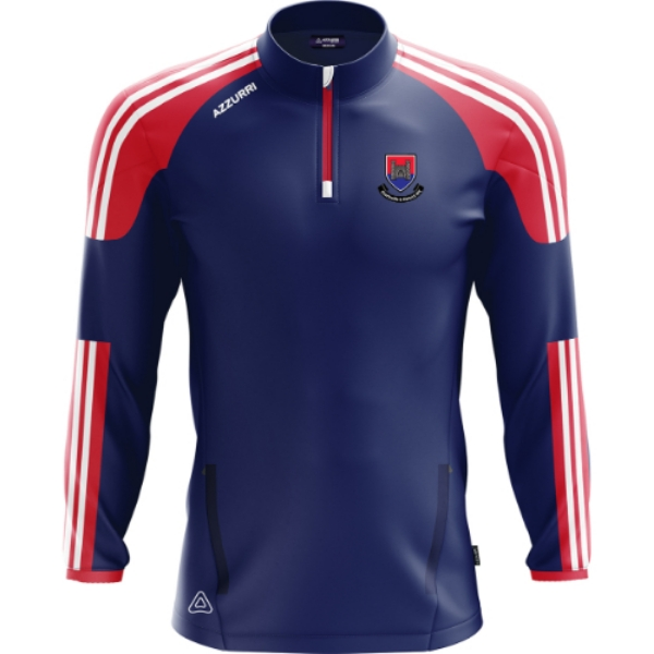 Picture of Charleville RFC Brooklyn Half Zip Navy-Red-White