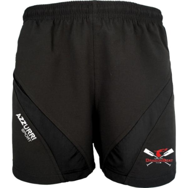 Picture of Carlow Dragon Boat Club Gym Shorts Black-Black