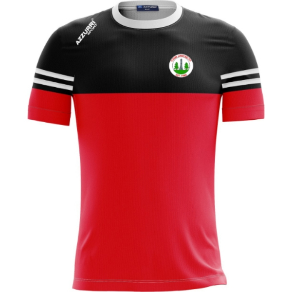Picture of Caim United FC Skryne T-Shirt Red-Black-White