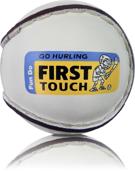 Picture of Waterford Camogie First Touch Sliotars White