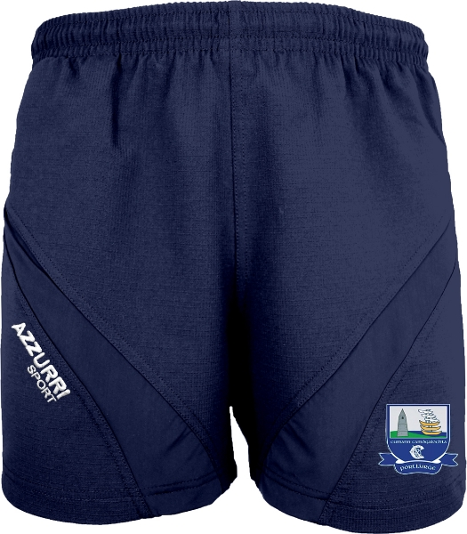 Picture of Waterford Camogie Gym Shorts Navy-Navy