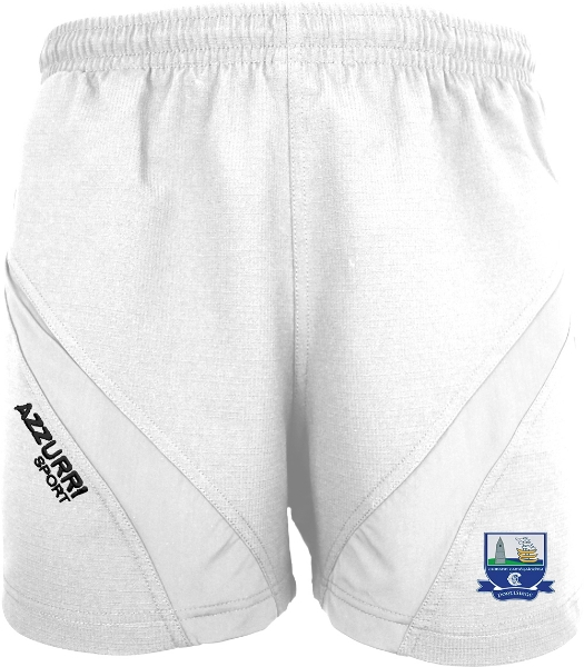Picture of Waterford Camogie Gym Shorts White-White