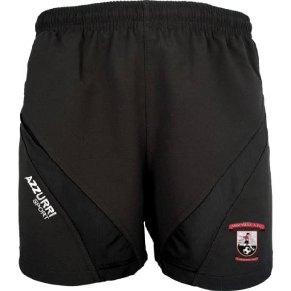 Picture of Abbeyside AFC Gym Shorts Black-Black