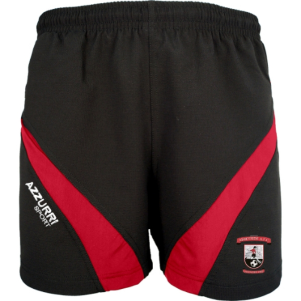 Picture of Abbeyside AFC Gym Shorts Black-Red