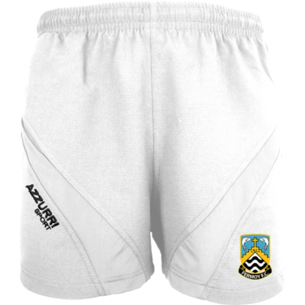 Picture of Fermoy FC Gym Shorts White-White