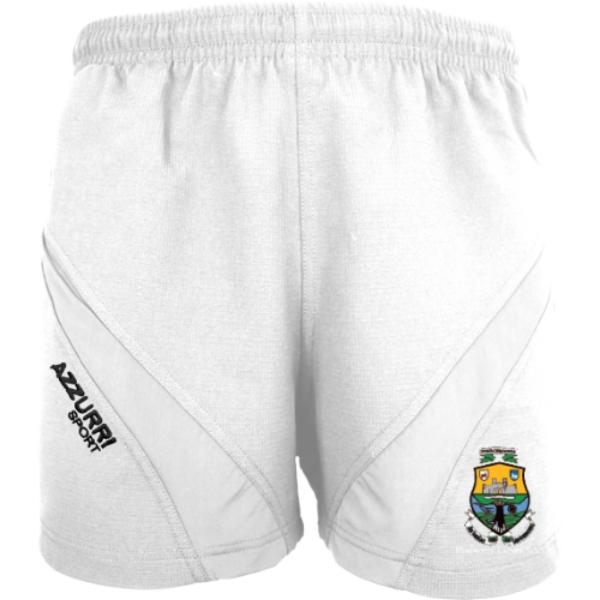 Picture of Macroom LGFA Gym Shorts White-White