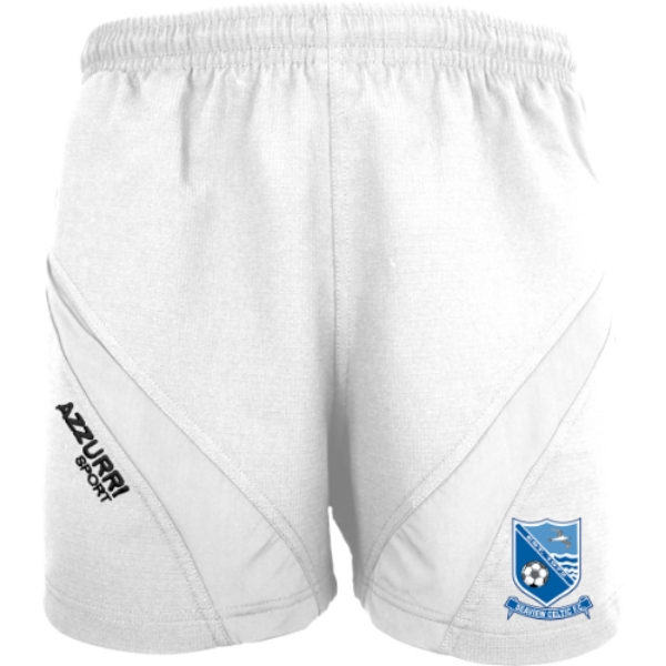Picture of Seaview Celtic FCGym Shorts White-White