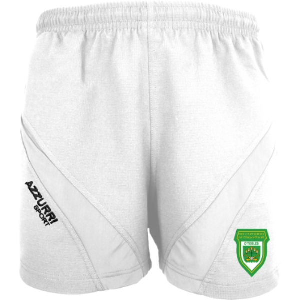 Picture of O'Tooles GAA Gym Shorts White-White